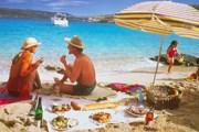 Британия приглашает устроить пикник на пляже. // study-express.ru