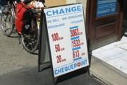 Евро и доллары обменять не так сложно. // fahrradbibliothek.de