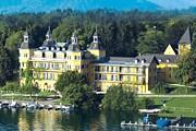 Отель Schloss Velden расположен в замке. // USA TODAY