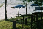 Туристический комплекс появился на Базалетском озере. // info-tbilisi.com