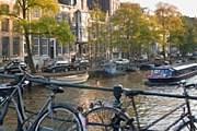 Велосипед – популярное в Амстердаме средство передвижения. // GettyImages