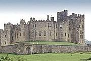 "Замок, в котором снимали ""Гарри Поттера"". //Geoff Stafford"