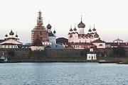 Причал находится рядом с Соловецким Кремлем. // Travel.ru