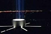 Монумент эффектно светится в темноте. // ntv.ru