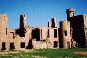 Леденящий душу замок Slains // geocities.com