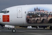 Самолет авиакомпании Travel Service с изображением Праги // Airliners.net.