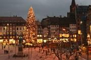 В Страсбурге открылась рождественская ярмарка. // jmrw.com