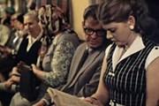 """В московском метро будут повышать интерес к чтению. // Кадр из фильма """"Москва слезам не верит"""""""