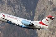 Самолет Fokker 70 авиакомпании Tyrolean Airways (Austrian Arrows) // Airliners.net