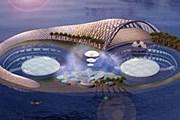 Так будет выглядеть «Гидрополис». // gizmag.com