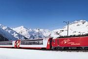 Панорамный поезд Glacier Express // glacierexpress.ch