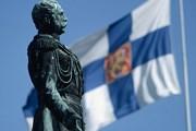 Флаг Финляндии. // GettyImages