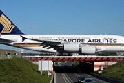 Самолет Airbus A380 авиакомпании Singapore Airlines // Airliners.net