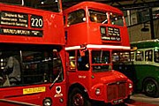 Двухэтажные автобусы - часть экспозиции музея. // rian.ru