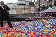 Полиции пришлось оцепить лестницу. // repubblica.it