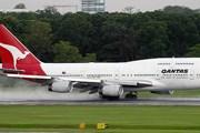 Самолет авиакомпании Qantas // Airliners.net
