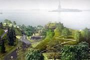 Так будет выглядеть парк. На заднем плане – статуя Свободы. // membrana.ru
