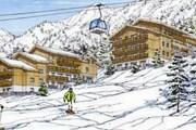 Отель удобно расположен рядом с трассами и подъемниками. // TourMaG.com