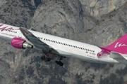 "Самолет авиакомпании ""ВИМ-авиа"" на фоне Альп // Airliners.net"