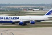 "Самолет Boeing 747 авиакомпании ""Трансаэро"" // Airliners.net"