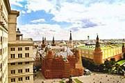 "Вид из окна гостиницы ""Москва"". // hotel-moskva.ru"