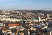 Вид с ратуши на восточную часть города. // Wikipedia