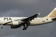 Самолет Airbus A310 авиакомпании Pakistan International Airlines // Airliners.net