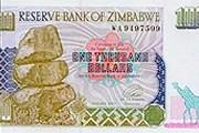 1 тысяча зимбабвийских долларов // Wikipedia