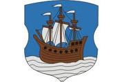 Кораблик изображен на гербе Полоцка.