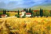Отдых в Тоскане становится популярным. // shafferfineart.com