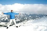 Российские туристы готовят лыжи летом. // GettyImages