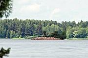 Иваньковское водохранилище, на берегу которого построят город-курорт. // Филиппова Елена