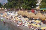 Пляж признан лучшим в Крыму. // panoramio.com