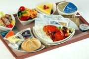 Бортовое питание на рейсе United // Airlinemeals.net