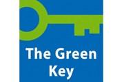 Такой знак получает обладатель награды. // green-key.org