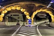 Фрагмент туннеля Södra Lanken // Dagens Nyheter