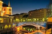Меньше всего туристов остается в столице. // ljubljana-accommodation.si
