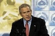 Речь Буша тронула израильского мецената. // nationalsquib.com