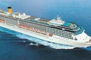 Трехсотметровый лайнер Costa Mediterranea // buongiornotaranto.com