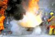 Сильный ветер способствовал распространению огня. // bgfactor.org