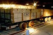 Вагонетка для перевозки соли – экспонат музея. // undergroundmuseum.org