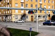 Рельсобили на городских улицах. // Фотомонтаж - Bengt Gustavsson