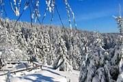 В Бескидах выпал снег. // kamratowka.pl
