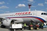 "Самолет Airbus A319 авиакомпании ""Россия"" // pulkovo.ru"