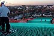 Туристы смогут кататься на лыжах и любоваться панорамой Варшавы. // interia.pl