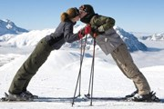 Все больше российских туристов едет на горнолыжный отдых в Швейцарию. // GettyImages