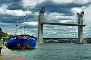 Во Франции открыт крупнейший в Европе разводной мост. // flickr.com