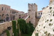 Ров, сделанный крестоносцами у Яффских ворот в Иерусалиме // palomnic.org