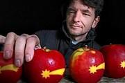 Яблоки пользуются спросом у покупателей. // ilovecz.ru