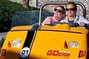 Веселая желтая машинка - не только транспорт, но и гид. // gocartours.es